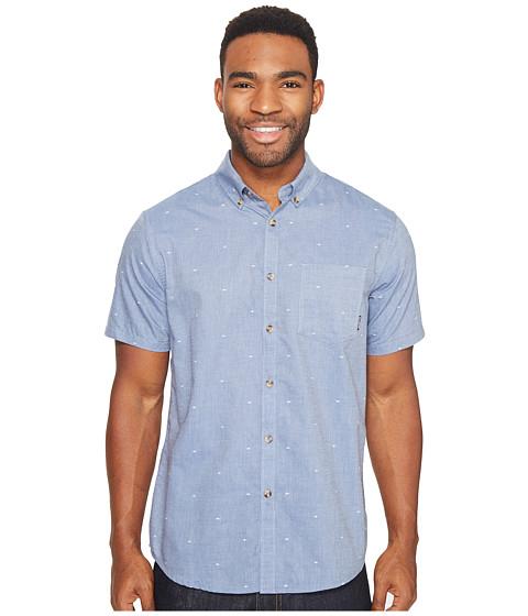 Imbracaminte Barbati Billabong Venture Short Sleeve Woven Top Blue
