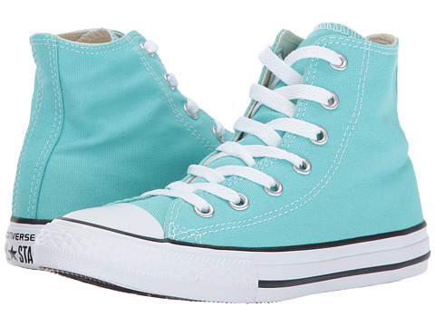 Incaltaminte Fete Converse Chuck Taylor All Star Hi (Little Kid) Light Aqua
