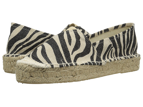 Incaltaminte Femei Chinese Laundry Elson Espadrille BlackWhite Zebra