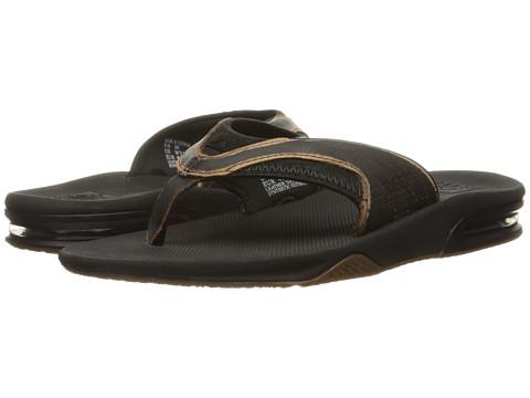 Incaltaminte Barbati Reef Leather Fanning Lux Worn Black