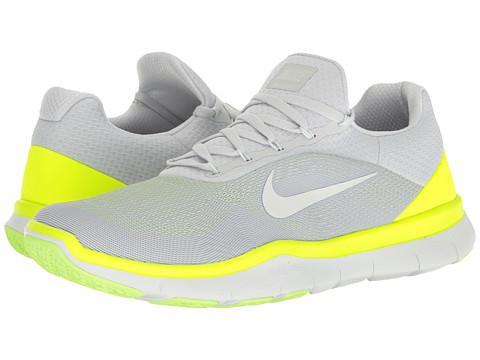 Incaltaminte Barbati Nike Free Trainer v7 Pure PlatinumVoltGhost GreenOff-White