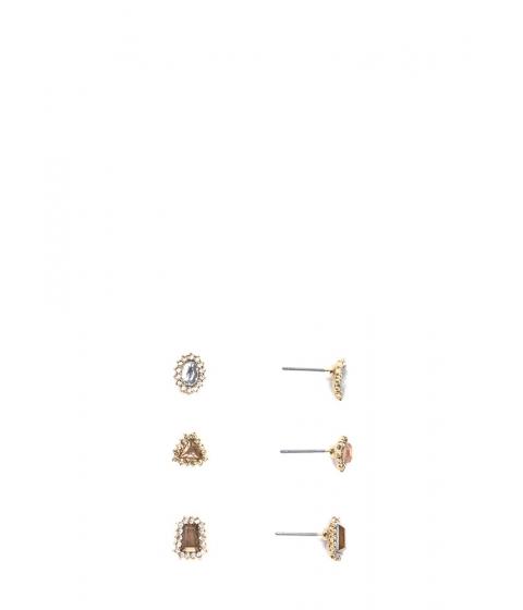 Accesorii Femei CheapChic Daytime Sparkle Faux Jewel Earring Set Goldmulti