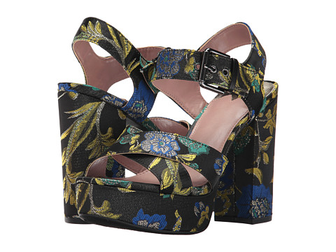 Incaltaminte Femei Circus by Sam Edelman Maria Black Multi Metallic Floral Brocade