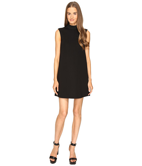 Imbracaminte Femei McQ High Neck Dress Darkest Black