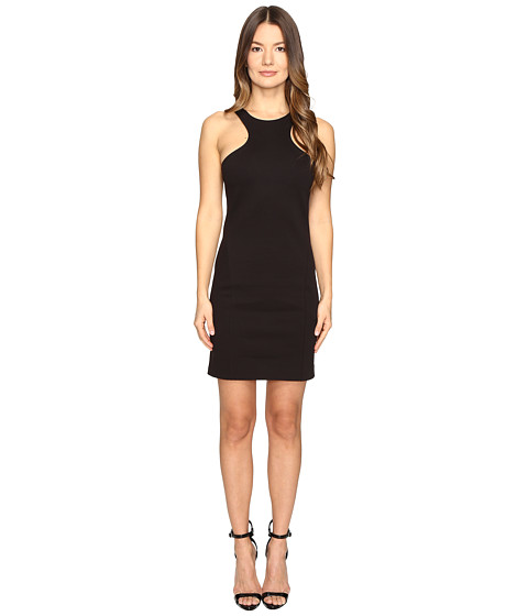 Imbracaminte Femei DSQUARED2 Compact Cotton Jersey Tank Dress Black