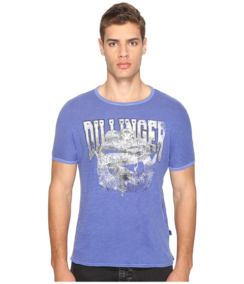 Imbracaminte Barbati Just Cavalli Snake T-Shirt True Blue