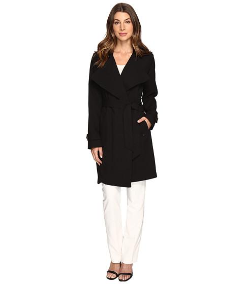 Imbracaminte Femei Michael Kors Wrap Coat M722014R74 Black