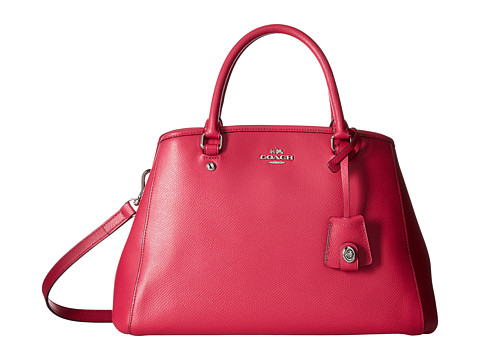 Genti Femei COACH Crossgrain Small Margot Carryall Cerise