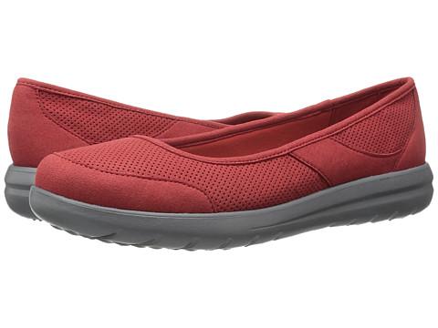 Incaltaminte Femei Clarks Jocolin Myla Red Perfed Microfiber