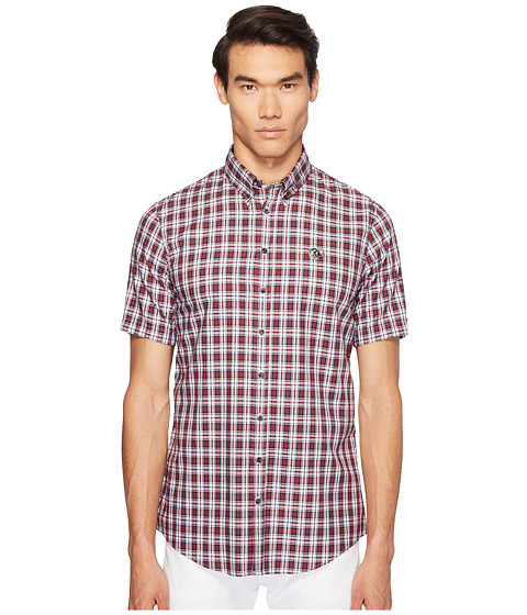 Imbracaminte Barbati DSQUARED2 Street Ska Check Shirt RedGreenWhite