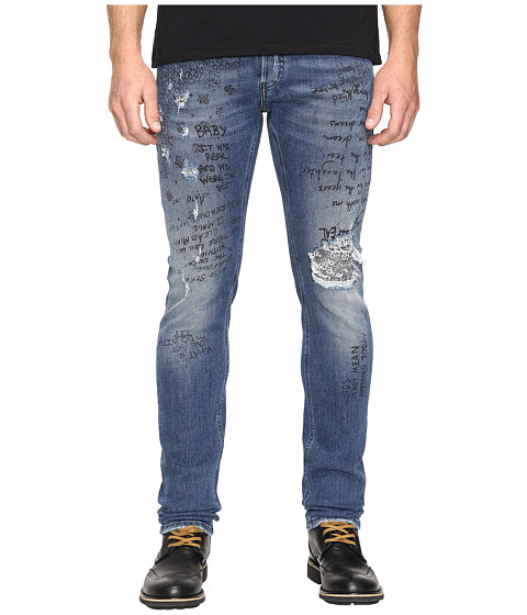 Imbracaminte Barbati Just Cavalli Five-Pocket Jeans Blue Denim
