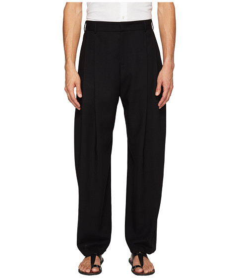 Imbracaminte Barbati McQ Kilt Pleat Trousers Darkest Black