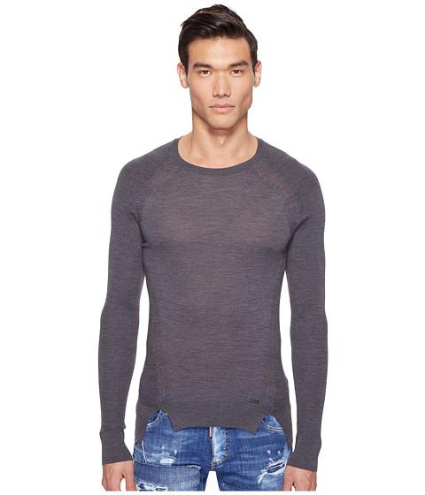 Imbracaminte Barbati DSQUARED2 Mod Evening Pullover Grey Melange