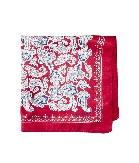 Accesorii Barbati Etro Paisley Pocket Square Red