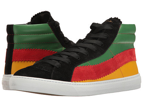 Incaltaminte Barbati Paul Smith Lynn Reggae High Top Black