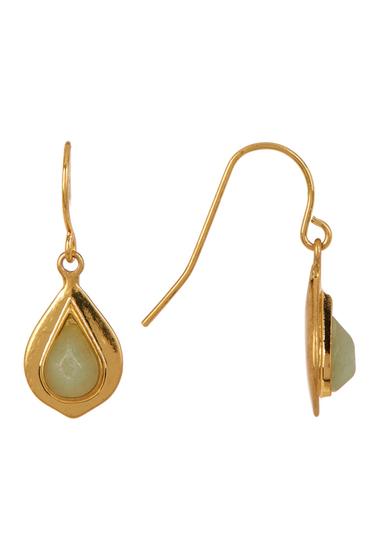 Accesorii Femei Carolee Double Teardrop Earrings GLDGRN