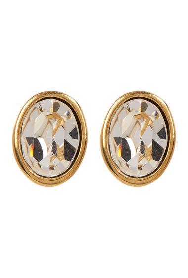 Accesorii Femei Carolee Small Oval Stud Earrings GOLDCRY