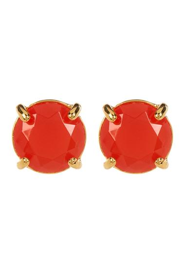 Accesorii Femei Carolee Round Stud Earrings GOLDCORAL