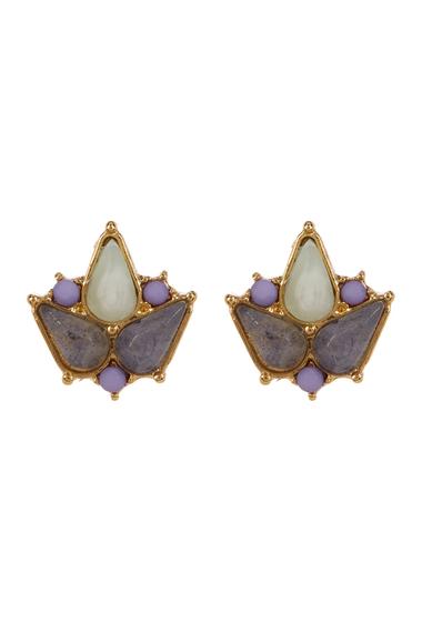 Accesorii Femei Carolee Two-Tone Double Drop Clip-On Earrings GOLD PL-LT MULTI