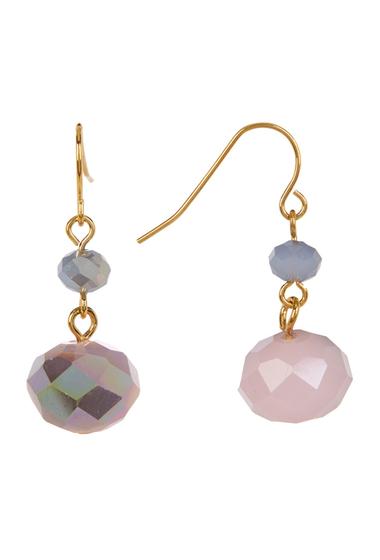 Accesorii Femei Carolee Double Drop Stone Earrings GOLDBLUE