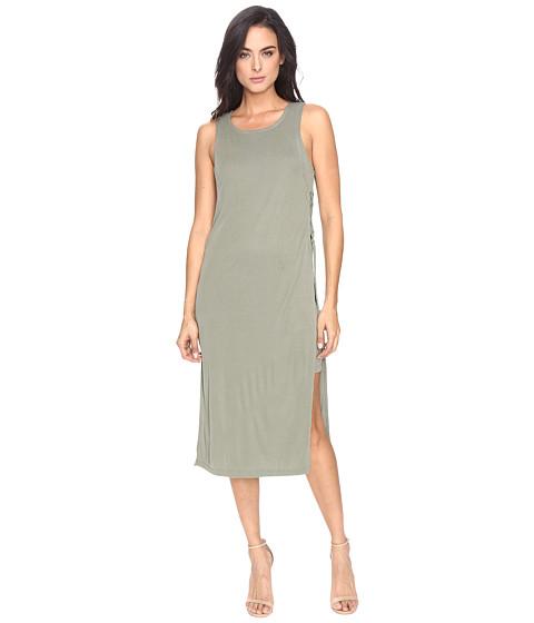 Imbracaminte Femei Splendid Sandwash Rib Dress Moss