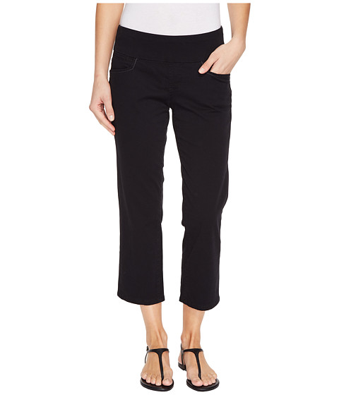 Imbracaminte Femei Jag Jeans Baker Pull-On Crop in Bay Twill Black