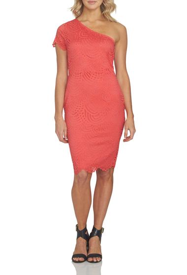 Imbracaminte Femei 1State One-Shoulder Bodycon Dress POPPY PETAL