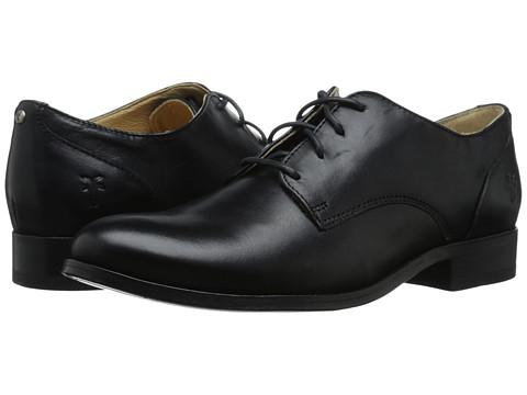 Incaltaminte Femei Frye Melissa Oxford Black Smooth Vintage Leather
