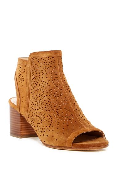 Incaltaminte Femei Via Spiga Jorie Perforated Peep Toe Sandal BEECHH