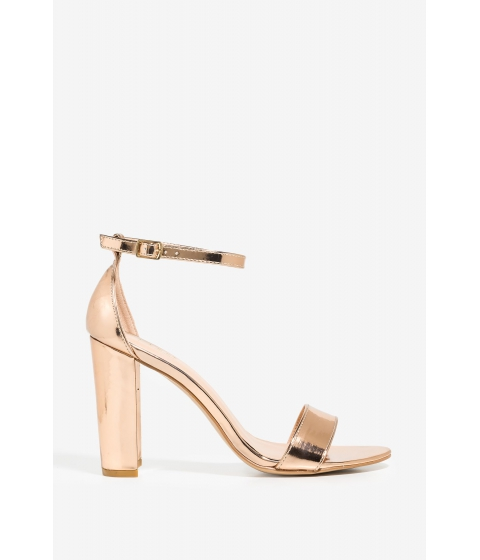 Incaltaminte Femei CheapChic No Competition Heel Rose Gold