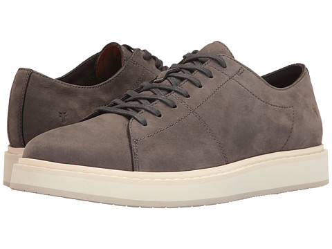 Incaltaminte Barbati Frye Mercer Low Lace Slate Soft Italian Nubuck