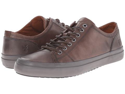Incaltaminte Barbati Frye Grand Low Lace Dark Grey Smooth Vintage Leather