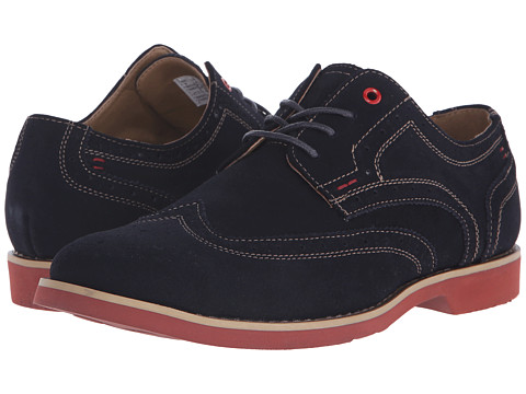 Incaltaminte Barbati Hush Puppies Fowler EZ Dress Navy Suede