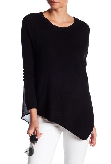 Imbracaminte Femei Joie Tambrel Cashmere Silk Blouse CAVIAR-CAVIAR