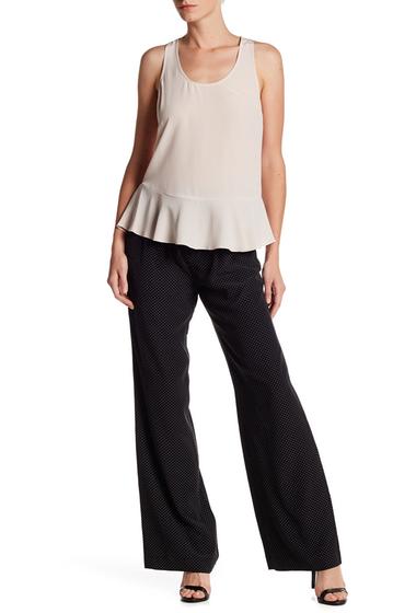 Imbracaminte Femei Joie Gaynell Dot Silk Pants CAVIAR-PORCELAIN