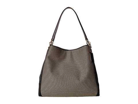 Genti Femei COACH Exploded Reps Phoebe Shoulder Bag MilkBlack