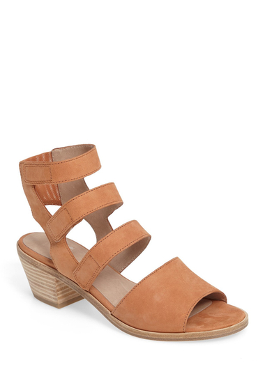 Incaltaminte Femei Eileen Fisher Vessey Strappy Sandal CARAMEL