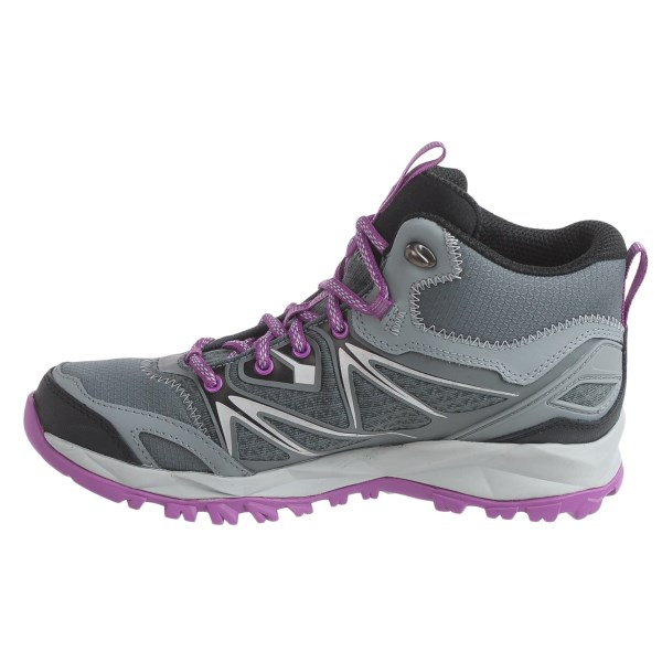 Incaltaminte Femei Merrell Capra Bolt Mid Hiking Boots - Waterproof GREYPURPLE (01)