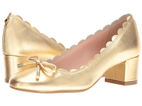 Incaltaminte Femei Kate Spade New York Yasmin Gold Metallic Nappa
