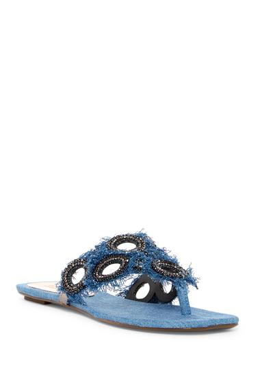 Incaltaminte Femei Schutz Wally Sandal LT BLUE-MONTANA BLK DIAMOND CR