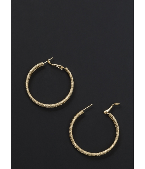 Accesorii Femei CheapChic Glitzy Baubles Twisted Hoop Earrings Gold