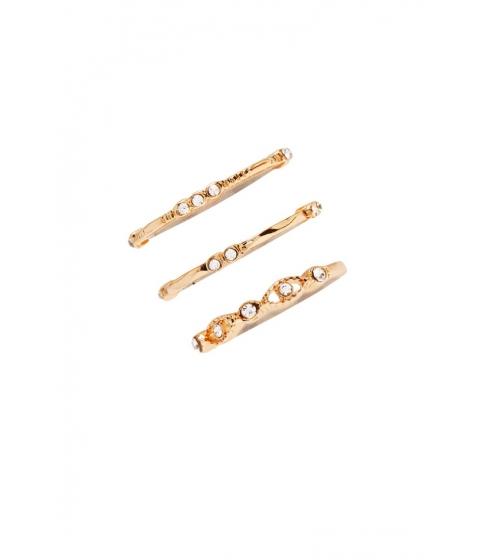 Bijuterii Femei Forever21 Rhinestone Stackable Ring Set Goldclear