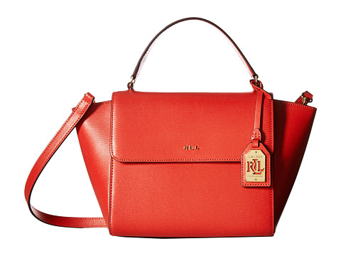Genti Femei LAUREN Ralph Lauren Newbury Barclay Crossbody Medium Cayenne