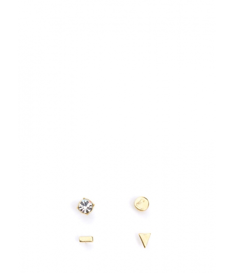 Bijuterii Femei CheapChic Shape Up Sparkly Earring Set Gold