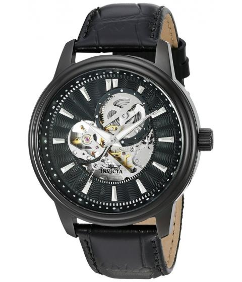 Ceasuri Barbati Invicta Watches Invicta Mens Vintage Automatic Stainless Steel Casual Watch ColorBlack (Model 22580) BlackBlack