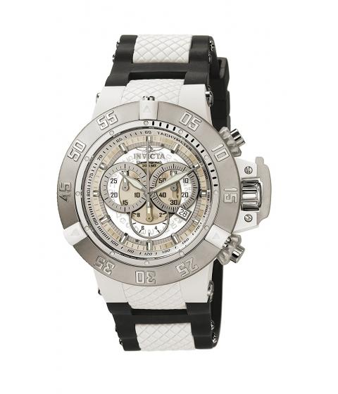 Ceasuri Barbati Invicta Watches Invicta Mens 0924 Anatomic Subaqua Collection Chronograph Watch WhiteBlack