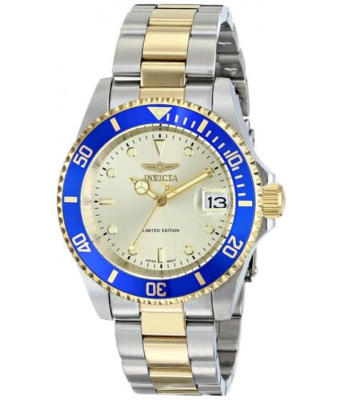 Ceasuri Barbati Invicta Watches Invicta Mens ILE8928OBASYB Limited Edition Pro Diver Two-Tone Automatic Watch with Link Bracelet champagneTwo Tone