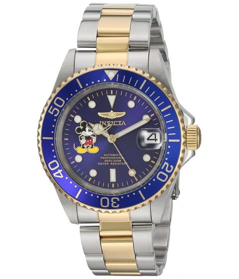 Ceasuri Barbati Invicta Watches Invicta Mens Disney Limited Edition Automatic Stainless Steel Casual Watch ColorTwo Tone (Model 22778) BlueTwo Tone