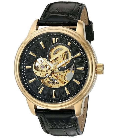 Ceasuri Barbati Invicta Watches Invicta Mens 22578 Vintage Analog Display Automatic Self Wind Black Watch BlackBlack