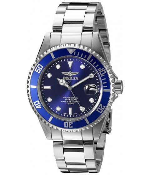 Ceasuri Barbati Invicta Watches Invicta Mens 9204OB Pro Diver Analog Display Quartz Silver Watch BlueSilver